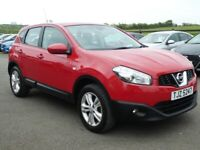 2012 Nissan Qashqai 1.5 DCI acenta with only 86000 miles, motd Sept 2021