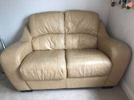 Italian Leather 2 seater sofa