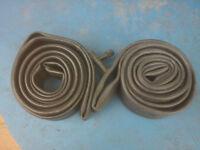 Brand new, unused bicycle inner tubes