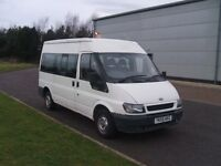 Transit ex minibus for camper/day van conversion - MOT July17