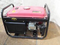 Petrol Generator 2.2Kw 240V 50Hz