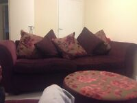 Sofa ex dfs and cuddle chair