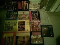 Over 600 Vinyl records