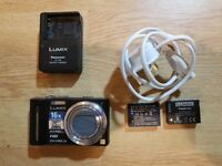 Panasonic DMC-TZ10 Digital Camera + Extras (VGC)