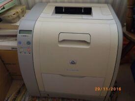 H.P. colour Laserjet Printer