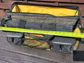 "Heavy duty tool bag 24"" waterproof bottom"
