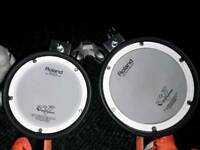 Roland PDX 6 And PDX 8 Drum pads