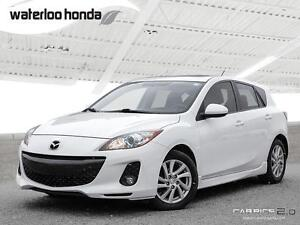 2012 Mazda 3 GS-SKY Touring with Heated Leather, Automatic, A...