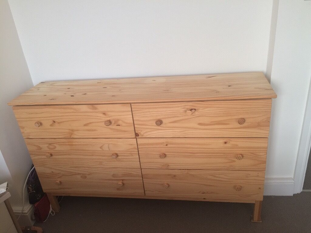 Moving Ikea Tarva Chest Of Drawers 6 Excellent Condition