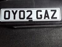 Private plate gaz on retention