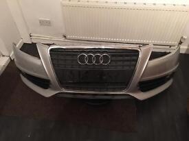Audi A4 B8 S line front end