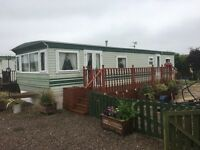 Static Caravan - Chapel Hill Marina - Sited - 37 foot long 12 Wide, brand new double glazing