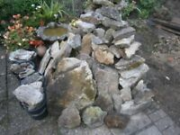 Approx 4 square metres of york stone for sale,Ideal for Patio or Rockery.