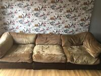 4 seater chesterfield sofa