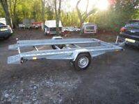 AS NEW 12-0 X 6-0 (1350KG BRAKED) TILTBED CAR TRANSPORTER TRAILER......