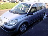Renault megane scenic 1.6 very low millage