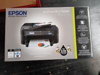 BRAND NEW SEALED BOX PRINTER FOR SALE - EPSON WORKFORCE WF-2750DWF -WIFI - COPY - SCAN - FAX - PRINT