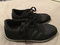 New Balance 430 black trainers - barely worn