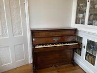 FREE PIANO JOHN BROADWOOD & SON'S LONDON