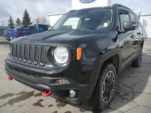 2016 Jeep Renegade Trailhawk P.S.T. PAID! GREAT VALUE!