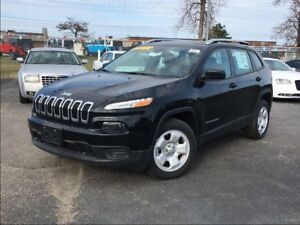 2017 Jeep Cherokee SPORT**BLUETOOTH**BACK UP CAM**REMOTE START**
