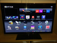 """40"""" Inch Full HD Samsung Smart TV Series 5 D5520 UE40D5520RK With Box & Remote"""