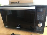 PANASONIC NN-DF386B FREESTANDING 3-IN-1 COMBINATION MICROWAVE OVEN WITH GRILL