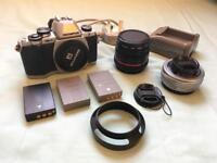 Olympus EM10 Mark I Camera Kit Set Combo