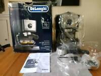 DeLonghi EC156.B Espresso and cappuccino coffee maker - Amazon refurbished