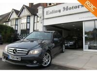 2009 MERCEDES C280,PETROL,AUTO,SALOON,SATNAV,LEATHER,BLUETOOTH,FULL HISTORY,HEATED SEATS,CD,DVD,AC