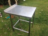 small size stainless steel catering table ��55