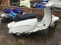 Lambretta LiS 150 project 1963