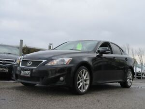 2012 Lexus IS 250 PREMIUM SPORT / ONLY 79,351 KILOMETERS