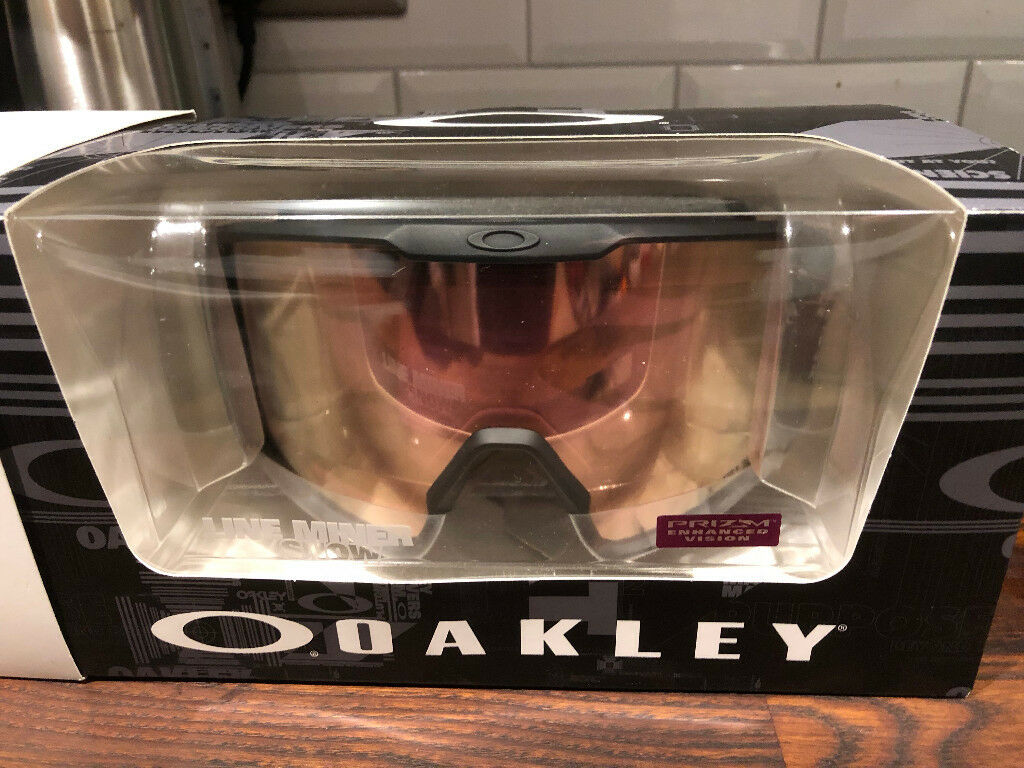 d5df5bdb659ef Oakley Line Miner Goggle Hi Pink Prizm