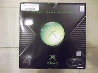 Collector's Item - New and unused Xbox Original Video Game Console