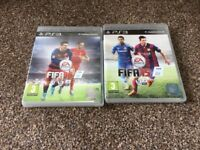 PS3 FIFA 15 & FIFA 16 games in original boxes