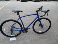 Raleigh Mustang 2016 Brand New Ex Display Road Gravel Cyclocross Disk Brakes located bridgend Area