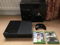 (Boxed) XBOX One 500GB *Day One Edition* with Controller & Games (CoD Infinite Warfare, FIFA 16)..