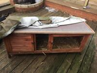 Used rabbit / Guinea pig hutch