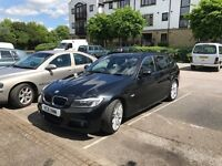 For sale my beautiful BMW 318d M sport In gleaming black and excellent condition
