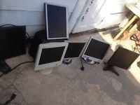 A joblot 6pcs monitor