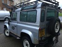Land Rover defender 90 county station wagon 300 series 2.5 tdi 6 seater 1 year mot no advisory