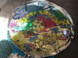 22 happy birthday helium balloons