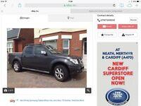 Nissan navara 2008/58 reg long mot 4x4 drive away bargain