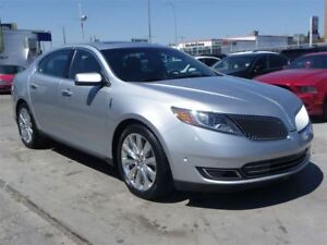 2013 Lincoln MKS EcoBoost AWD GPS B.CAMERA PANO-ROOF LOADED