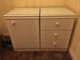 Bedside Tables Cabinet Free To Collect!