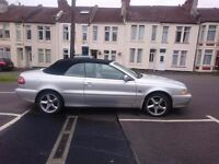 Volvo C70 Convertible - 2.0T Petrol, Manual, Silver, great condition