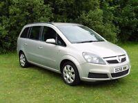 Vauxhall Zafira 1.6 i 16v Club 5dr