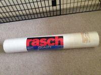 Rasch wallpaper cream with peach/gold tile design kitchen/bathroom.