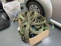 JOB LOT of Lifting ropes/straps